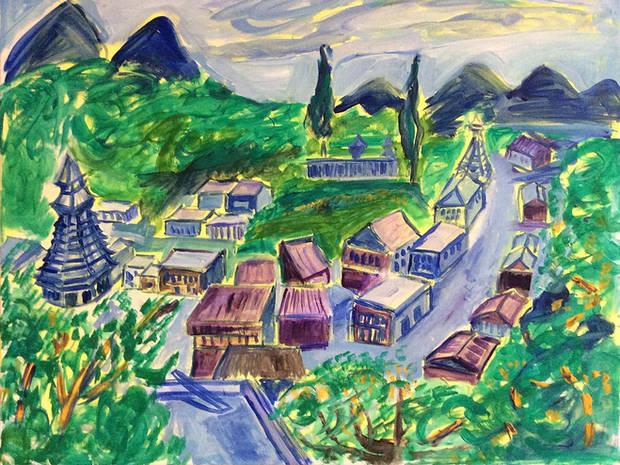 Dorf in China