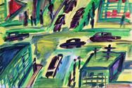 Kreuzung in der Bronx