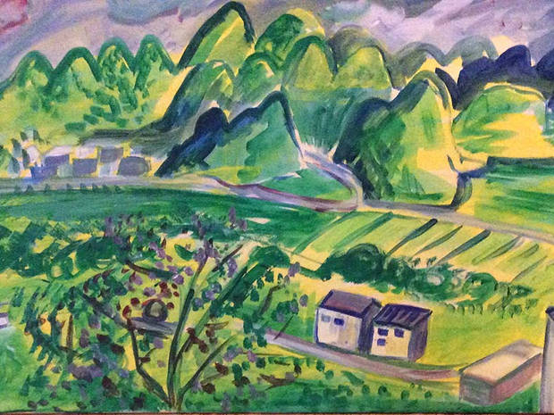 Wanfenglin/China Landschaft