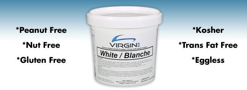Fondants à Rouler Blanc de Virgin Ice