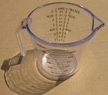 Tasse à Mesurer 2 1/2 Tasses Adamo | 11642B