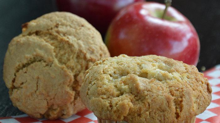 Muffins aux pommes (paquet de 6)