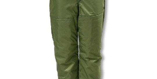 pantalon bûcheron vert Filature Isle Verte