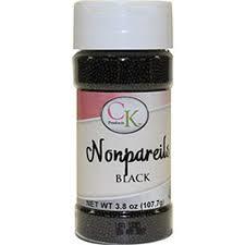 Nonpareils Black 3.8 oz de CK Products | 78-520K