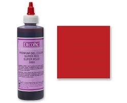 Premium Gel Couleur Super Red de DecoPac | 5890