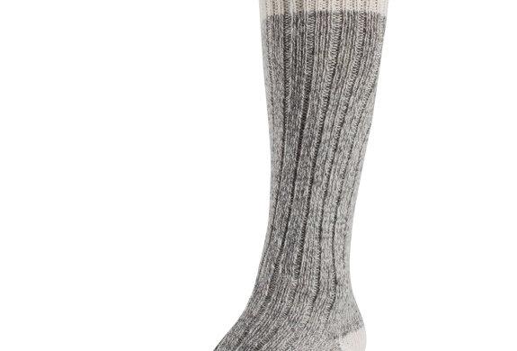 bas de travail en laine Duray au-dessus mollet (2 paires)