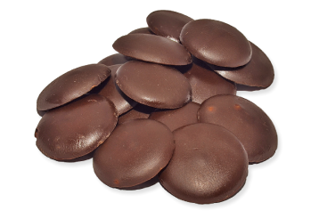Pastilles de chocolat au Lait de marque Mercken 1lbs
