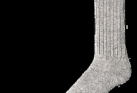 bas laine armée gris Duray (2 paires)