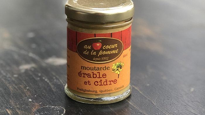 Moutarde Érables & cidre