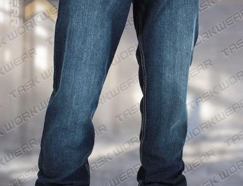 Jeans doublé polar Task bleu