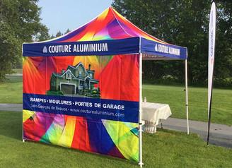 Tente promotionnelle populaire