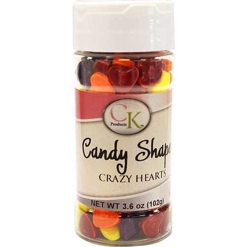 Candy Shapes Crazy Hearts 3.6 oz de CK Products | 78-23296