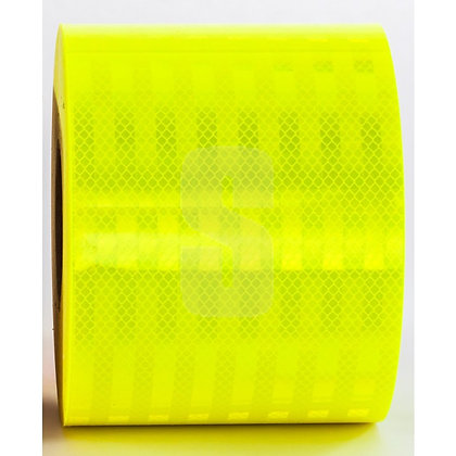 """3M DIAMOND GRADE CONSPICUITY TAPE 983-23-6"""" FLUO LIME / 20 LINEAR FT"""