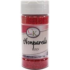 Nonpareils Red 3.8 oz de CK Products | 78-520R