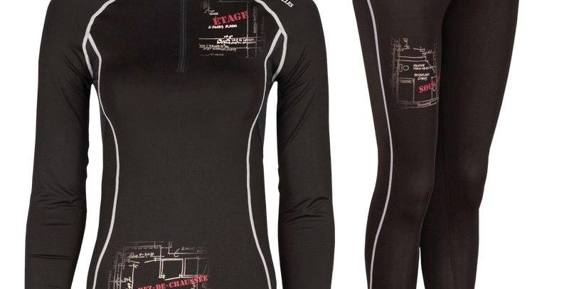 Sous-vêtements TEK-Air avec plans – PF110 Pilote et filles noir