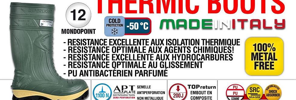Botte Cofra thermic -50°c vert