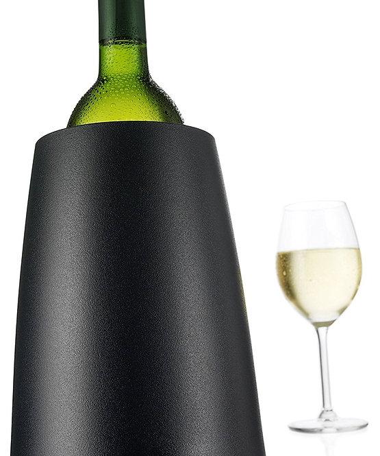 Seau pour bouteille de vin Vacu Vin élégant en noir | INTER 3500.3649450