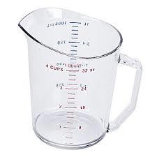 Tasse à Mesurer 4 T Cambro | 100MCCW