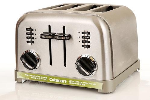 Grille-pain 4 tranches Métal classique Cuisinart | CPT-180C