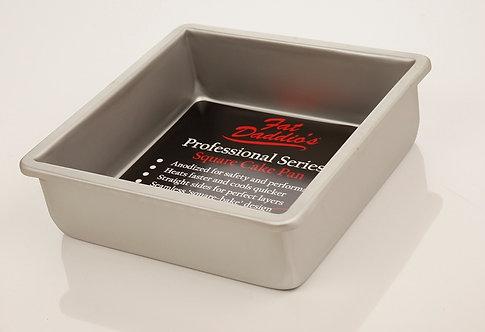 Moule à gâteau carré Fat Daddio's 9 x 9 x 3 pouces   PSQ - 993
