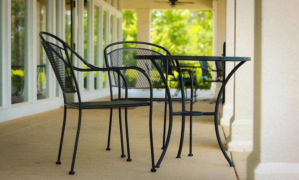 Tables de patio