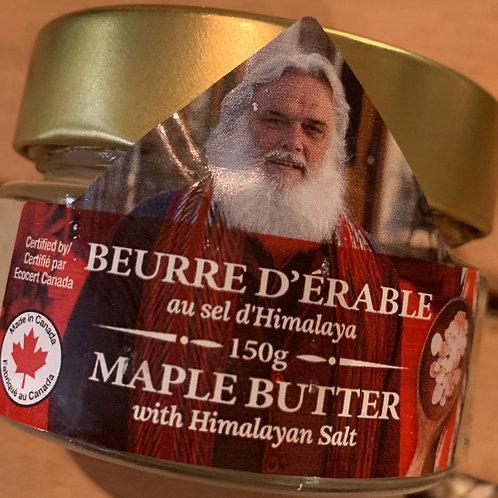 Beurre d'érable au sel d'hymalaya