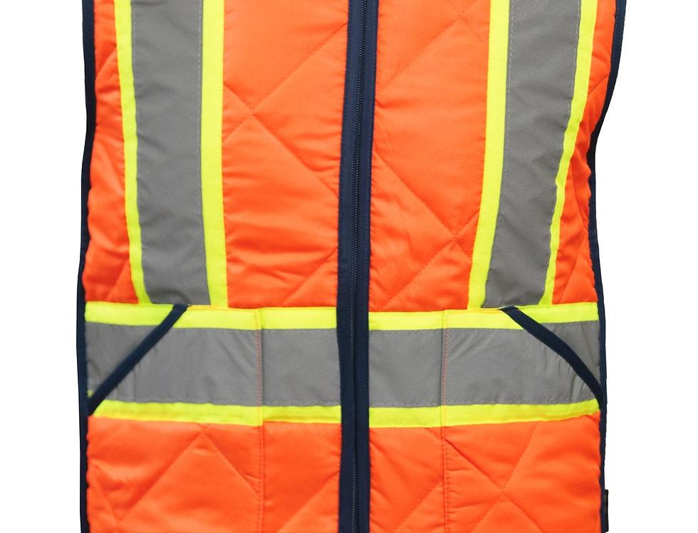 Veste de travail isolée avec bandes réfléchissantes, HV037