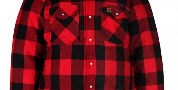 chemise doublé en flannel Big Bill rouge 221Q