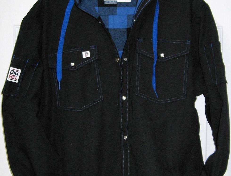 chemise doublée ripstop Big Bill 257RS noir