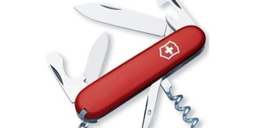 couteau Victorinox Tourist rouge 84 mm