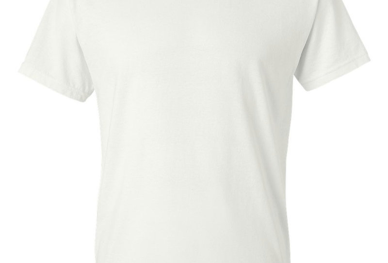 t-shirt Gildan 8000 adulte blanc (paquet de 2)