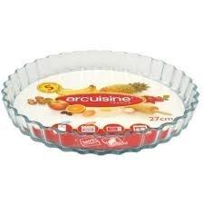 Assiette a Tarte 22cm en Pyrex 3.5 L. Arcuisine | 430803BA