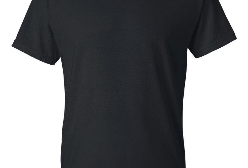 t-shirt Gildan 8000 adulte noir (paquet de 2)