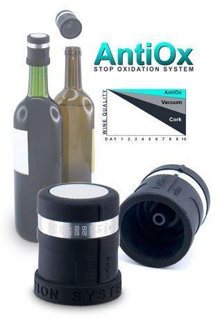 Bouchon à vin antioxidant AntiOx de Pulltex | 107-798-00