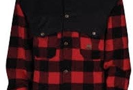 chemise en laine à carreaux avec nylon aux épaules Big Bill 472