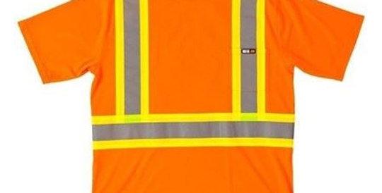 T-shirt de sécurité manches courtes 25-400
