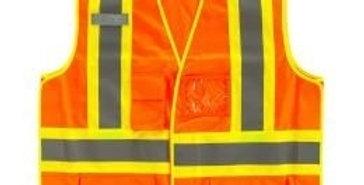 veste de sécurité 10/4 Job orange