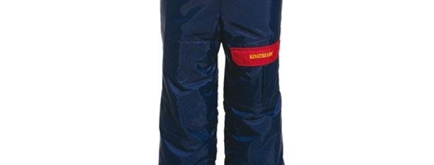 jambière de protection pour scie à chaîne bûcheron bleu Kingtreads