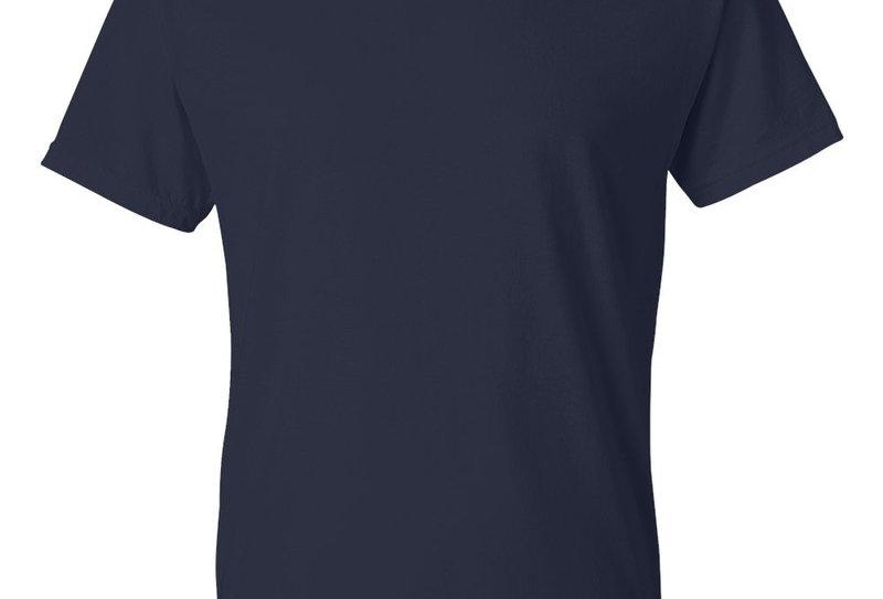 t-shirt GIldan 8000 adulte bleu (paquet de 2)