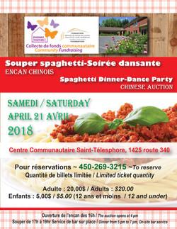 Marie-Line Leblanc / Souper Spaghetti St-Telesphore, $7,500.85