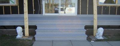 Après - Voilà un escalier qui durera de très nombreuses années, sans nécessité de peindre et sans entretien compliqué.