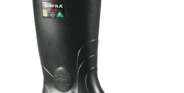 botte caoutchouc Cofra Tanker noir