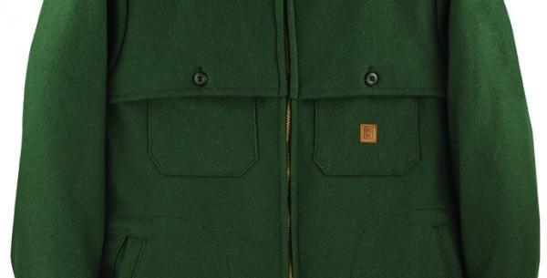 manteau en laine vert Big Bill 461CAB