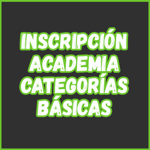 Inscripción - Academia Cat. Básicas