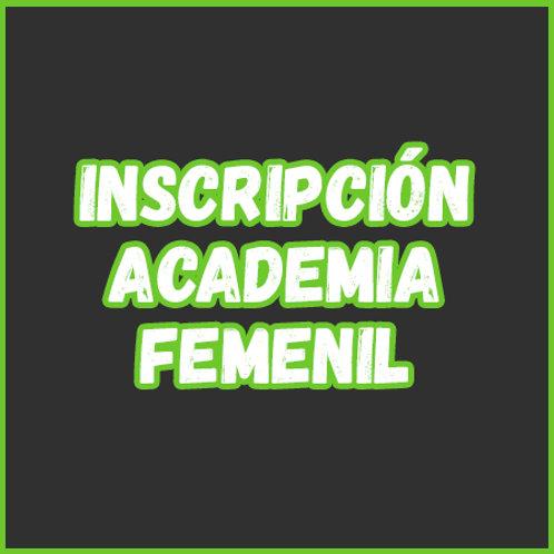 Inscripción - Academia Femenil