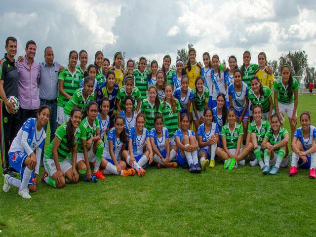 Selección sub-20 en Olivos