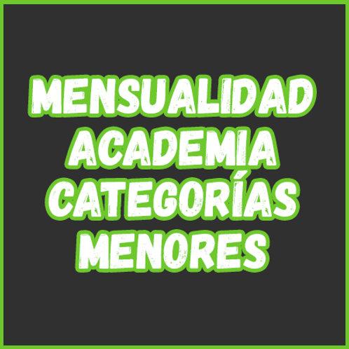 Mensualidad - Academia Cat. Menores