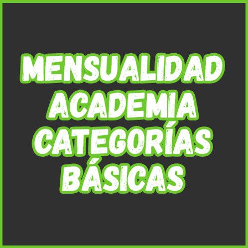 Mensualidad - Academia Cat. Básicas