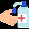 5932586 - coronavirus covid19 hands soap