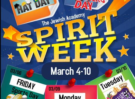 Spirit Week at the Jewish Academy!